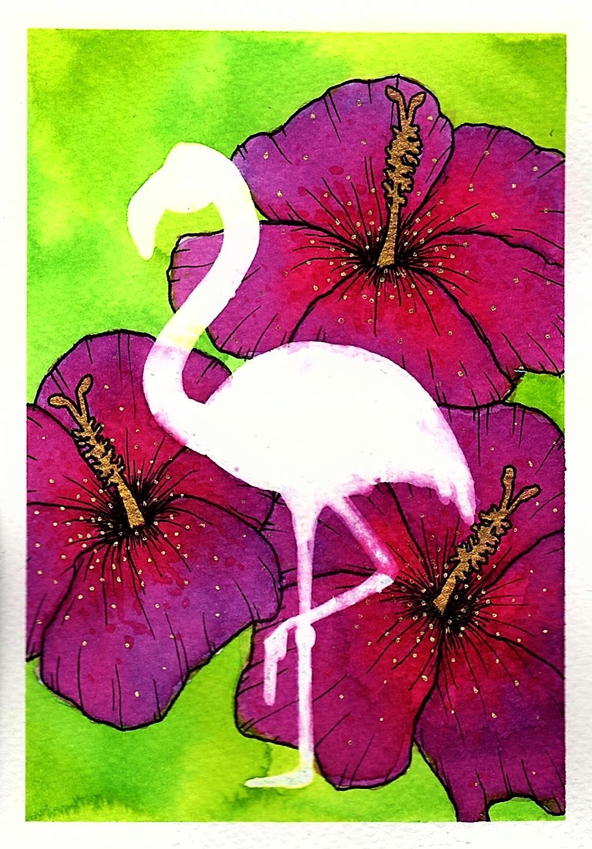 FlamingoHibiscusScan.jpg