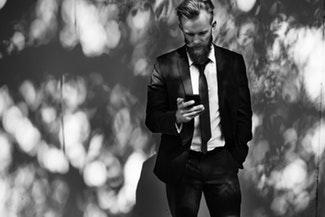 Bekend stockfoto model zwart wit